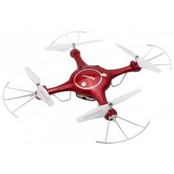 Syma X5UW-D (zdalnie obracana kamera WiFi FPV 720p, 2.4GHz) - Czerwony
