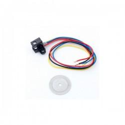 Moduł optyczny enkoder obrotowy 100 linii - detektor szczelinowy - encoder