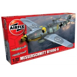 Airfix 02029A Messerschmitt Bf109G-6