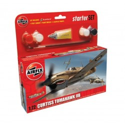 Airfix 55101 Curtiss P-40B Warhawk Starter Set