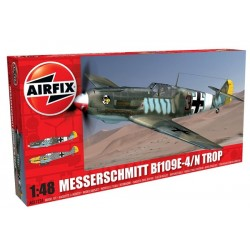 Airfix 05122A Messerschmitt Bf109E-4/N Tropical