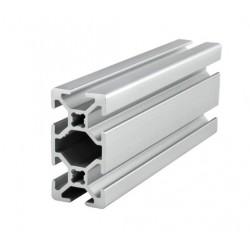 Profil aluminiowy T6 2040 T6 500mm - anodowany - do drukarek 3D, stelaży, maszyn przemysłowych