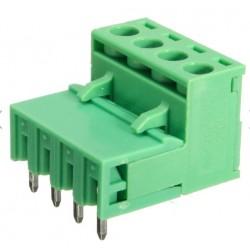 Listwa rozłączalna 5,08mm gniazdo + wtyk - 4 pin