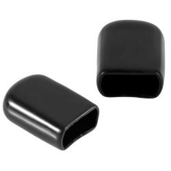 Osłonka na wtyk XT60 - czarna gumowa 10szt - Zabezpieczenie złącza