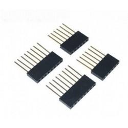 Wtyk kołkowy 2,54mm - przedłużka 10mm - 8 pinów - 10 szt