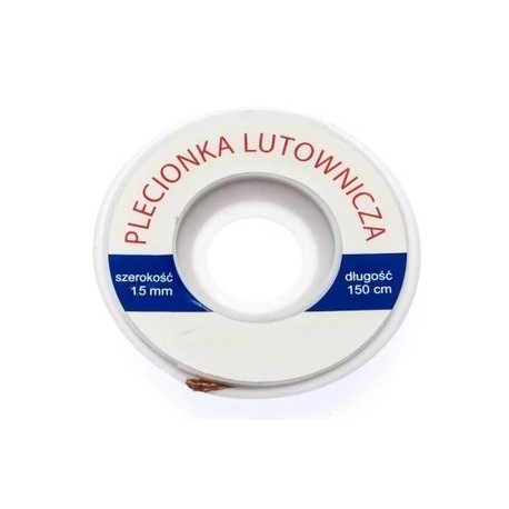 Taśma lutownicza - plecionka 1,5mm - 150cm