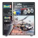 Bell UH-1H Gunship - Revell - 64983 - Zestaw z klejem i farbami