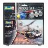 Bell UH-1H Gunship - Revell - 63955 - Zestaw z klejem i farbami