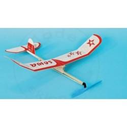 Samolot FALCON- Rzutka z napędem gumowym