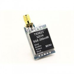 BOSCAM Transmiter AV 5,8GHz Mini TX 200mW - 32CH - TS5823 (nadajnik)