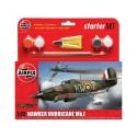 Airfix 55111 Hawker Hurricane MkI Starter Set