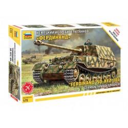 """Zvezda 5041 """"Ferdinand"""" Sd.Kfz.184 German Tank Destroyer"""