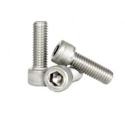 Śruba Socket M2x16 - 10 szt - pod klucz imbusowy - moletowana główka