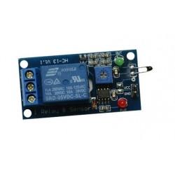 Czujnik temperatury z przekaźnikiem 10A/250V AC