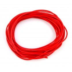 Przewód 16AWG - czerwony - 1,31mm2 - 1m