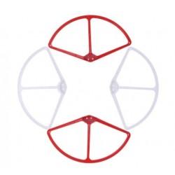Biało-czerwone osłony śmigieł DJI Phantom 3 - szybkozłączki