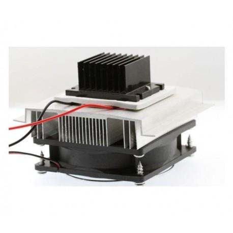 Zestaw rozwojowy do ogniw Peltiera - radiatory + wentylator - do lodówki przenośnej, chłodzenia elektroniki, pompy cieplnej