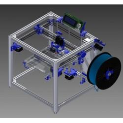 Rama drukarki HyperCube - 20x20x15 - profile 2020