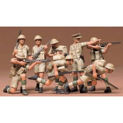 Tamiya 35032 British Eight Army Infantry Desert Rat