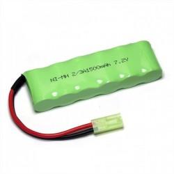 1500mAh 7.2V NiMH Mini Tamiya - HSP 28408