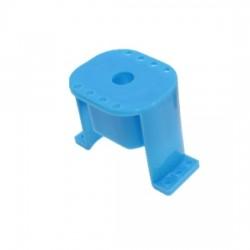 Plastikowy uchwyt na silnik 130 - blue - łoże silnika