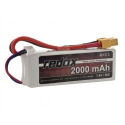 Redox 2000 mAh 7,4V 30C - pakiet LiPo