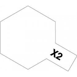 Tamiya 81002 Acryl 23ml X-2 White Gloss