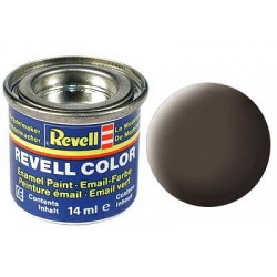 REVELL 32184 FARBA 84 LEATHER BROWN MATT