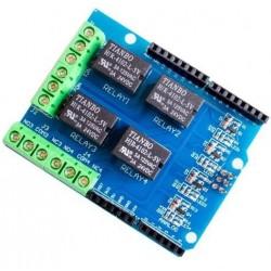 Moduł przekaźnika 4-kanałowego 5V do Arduino - UNO R3 - MEGA2560