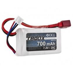 Redox 700 mAh 7,4V 20C - pakiet LiPo