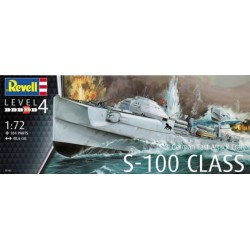 Revell - 05162 - German Fast Attack Craft S-100 Class