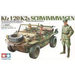 Tamiya 35003 Kfz.1/20 K2s Schwimmwagen
