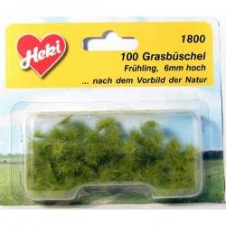 Heki 1800 Kępy Trawy Wiosenne 5-6mm - 100szt