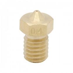 Dysza 0,3mm M6 - Filament 1,75mm - H12.7mm - mały stożek - RepRap E3D V5 V6
