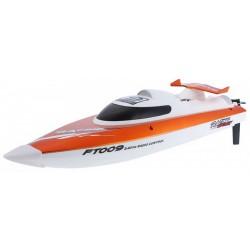Motorówka FT009 2.4GHz RTR (długość 46cm, prędkość 30km/h, silnik klasy 540) - Pomarańczowa