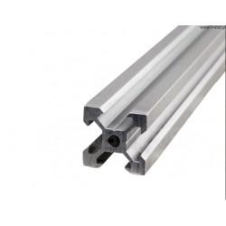 Profil aluminiowy V-SLOT 2020 250mm - anodowany - do drukarek 3D, stelaży, maszyn przemysłowych