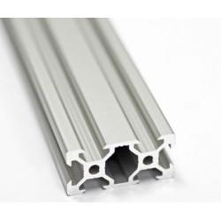Profil aluminiowy V-SLOT 2040 250mm - anodowany - do drukarek 3D, stelaży, maszyn przemysłowych