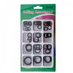 Zestaw uszczelek 50szt - Uniwersalne oringi 10mm-25mm - O-ring
