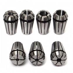 Tuleja zaciskowa ER11 - 7mm - tulejka - uchwyt do Głowicy zaciskowej C16 - CNC - frezarka
