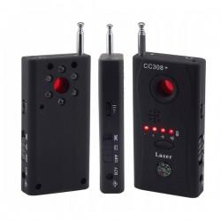 Wykrywacz Podsłuchów - C3308+ Detektor Kamer i Lokalizatorów - Anty-Szpieg