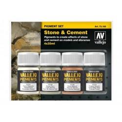 Vallejo 73192 Pigment Set Stone & Cement
