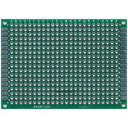 Płytka uniwersalna 70x90mm - PI25Z - dwustronna - PCB budowa prototypów