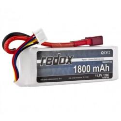 Redox 1800 mAh 11,1V 20C - pakiet LiPo