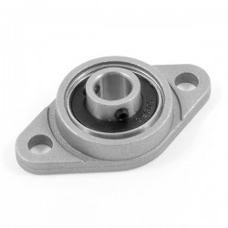 Łożysko kulowe w aluminiowej obudowie - KFL08 - 8mm - miniaturowa podpora wałka