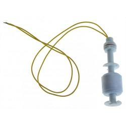 Czujnik pływakowy poziomu cieczy, wody - M10 - 70mm - włącznik pływakowy prosty - pionowy