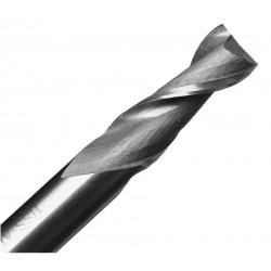 Frez dwupiórowy - 6mm - węglik spiekany - do materiałów miękkich