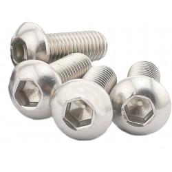 Śruba Socket M5x20 - 10 szt - pod klucz imbusowy