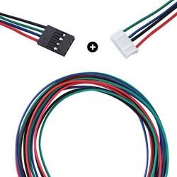Przewód do podłączenia silnika krokowego do płyty 100cm 4pin - 6pin