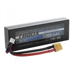 Redox 5000 mAh 7,4V 50C Hardcase - pakiet LiPo