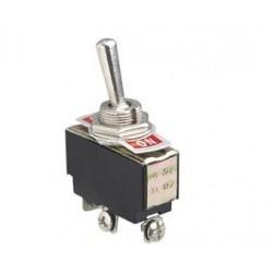 Przełącznik dźwigniowy - 5A - 250V - 2-pozycyjny - ON-ON - KN3C-102